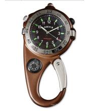 Relógio de bússola de movimento com mosquetão personalizado Japão