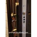 World Top End Transfer grain residential luxury security wood door