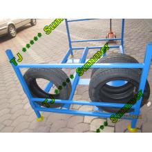 Faltbarer Reifen und Reifen Lagerregal