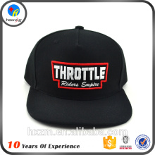 Chine Wholesale Custom Black Cheap Snapback Caps