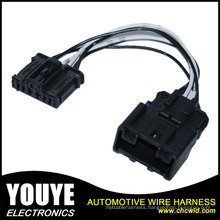 Auto AV Connecting Wiring Harness DC Connecting Wires Cables with Double