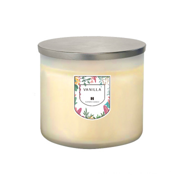 Romantic private label scented candles luxury for home decoration bath and body scented candle