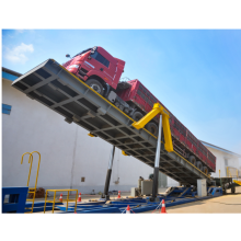 Beweglicher hydraulischer LKW-Kipper