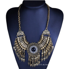 Alte Bronze Drop Halskette (XJW13703)
