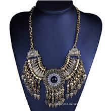 Старинное бронзовое ожерелье (XJW13703)