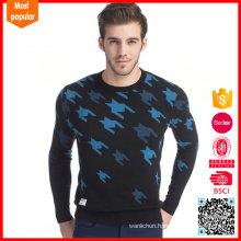 New arrival custom knitted men sweater 2017