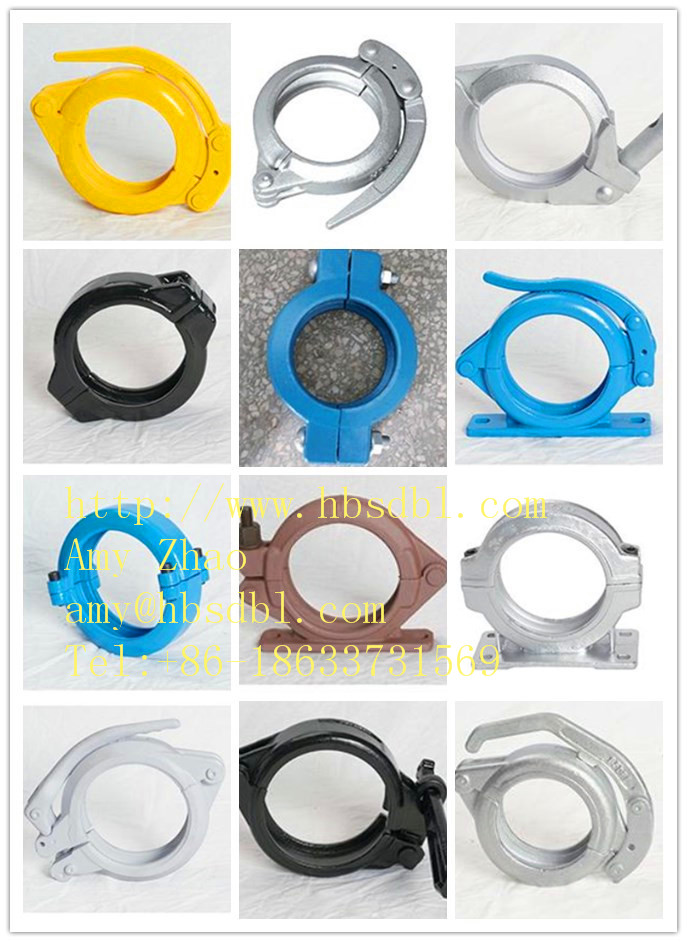 oncrete pump clamp coupling