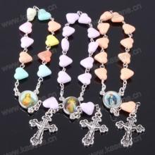 Фабрика продает католический религиозный тематический браслет с розарием с крестом