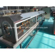 Пластиковые экструдер ПЭ/ПП/PPR труб Экструзионная линия машины
