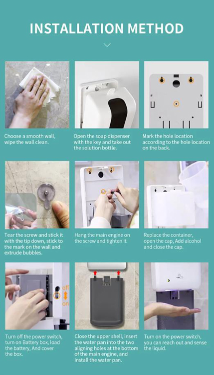 Automatic Soap Dispenser To Prevent Cross Infection Suitable For Public Places