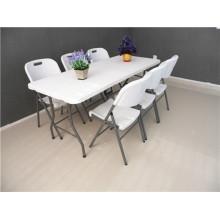 6FT Hotsale Пластиковый складной стол для использования в событиях по заводской цене