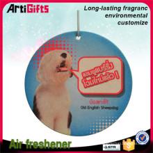 Hot sale print paper cardboard air freshener wholesale