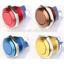 CMP 16mm metal colorized momentary red green blue yellow push button switch