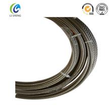 Câble de fil d'acier au carbone 6 * 7