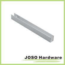 Extrusão de cabeçalho da porta de chuveiro deslizante Frameless (AL102)