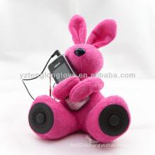 Диктор кролика DJ новизны для компьютера MP3 PSP