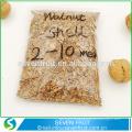 60-100 mesh Polissage Coque en noix Matériaux Granulés abrasifs en coquille de noix