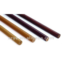 35mm decorative round wooden curtain pole