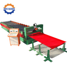 Aluminum Galvanized Zinc Tile Roll Forming Machine