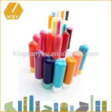 La venta al por mayor colorida del caso del envase del lápiz labial de la bala compone los accesorios