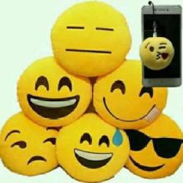 Almohada Emoji de felpa