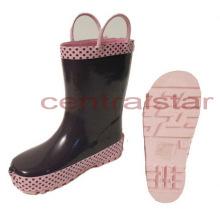 Cute Girls Hot Rubber Rain Boots (LRB008)