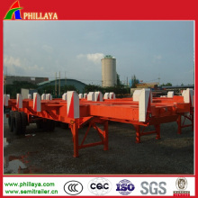 Factory Supply China Skeleton Container Semi Trailer