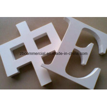Placa expandida de PVC para pantalla