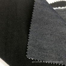 Deep Navy Denim Bonded Fabric
