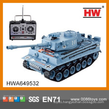 New Design 4 Channel 1:20 Simulated Remote Control Toy Tank