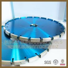 Lames diamantées à pointes laser diamantées pour meuleuse angulaire en pierre à rainurer