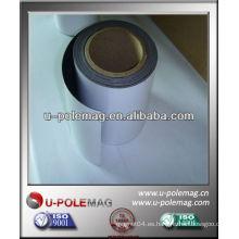 Hoja de imán de caucho blando con PVC