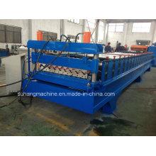 Feuille de toiture ondulée adaptée aux besoins du client de grande vague de longue durée d'envergure faisant la machine