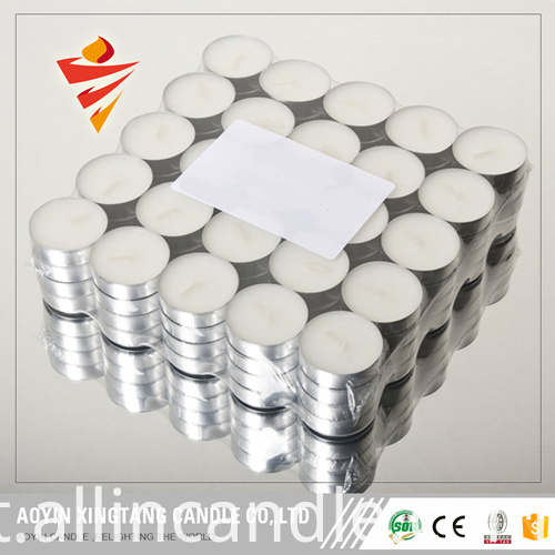 Aluminum Shell Tea Candle