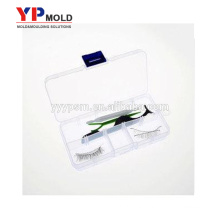 Custom High quality false eyelash box Eyelash packaging container with black colors