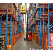 Rij in Selectief Pallet Racking System