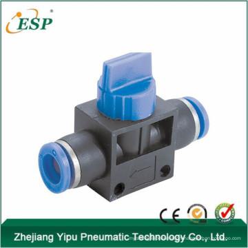 bonne qualité esp ceinture hvff en plastique valve à main