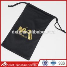 Golded Logo Embossed Gedruckt Microfiber Optik Sonnenbrille Tasche