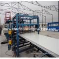 Cor aço corrugação telhado painel máquina de painel de sanduíche