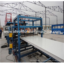 Color Steel Corrugation Roof Panel Sandwich Panel Machine