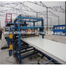 Sandwich Panel Roll formando a máquina para o painel do telhado do EPS