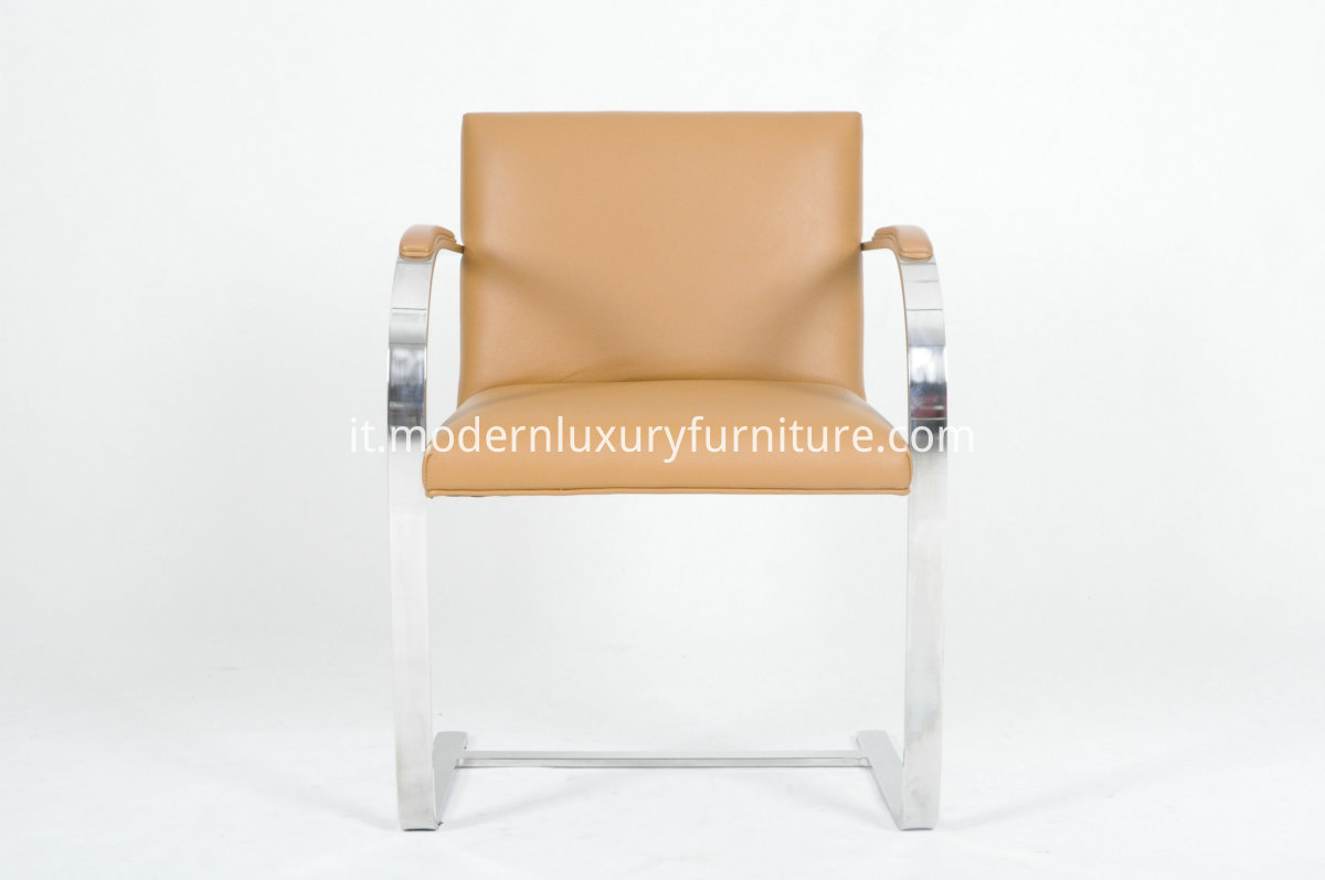 tan leather chair