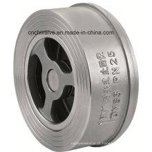 H71 Válvula de verificação Wafer em aço inoxidável