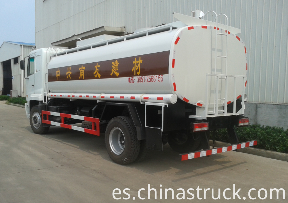 CAMC 10CBM NaOH solution tank truck