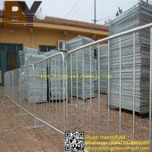 Barreras extraíbles de alta calidad Barrera de control de multitudes