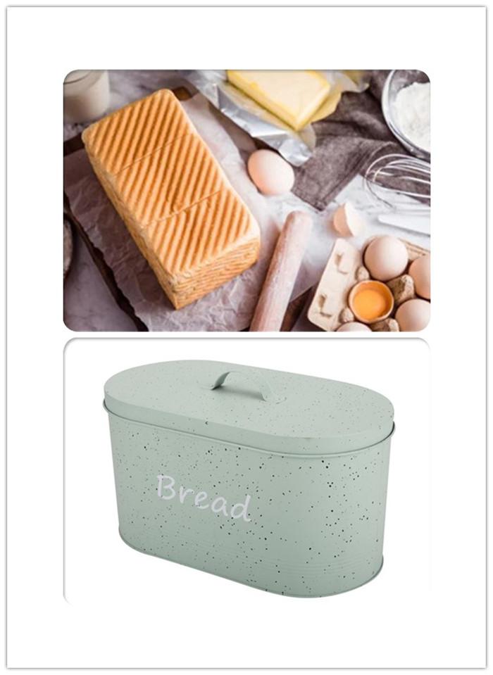 Living Metal Bread Bin