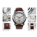 Relógios de homens de movimento de quartzo personalizado Design de moda