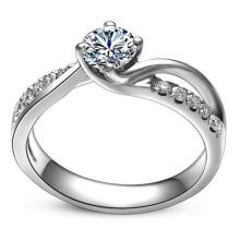 Мода Высокого Качества Красивая Любовь Стерлингового Серебра Кольцо Ювелирных Изделий