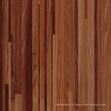 Installation facile de plancher en vinyle de luxe en bois
