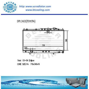 Radiateur pour Mitsubishi